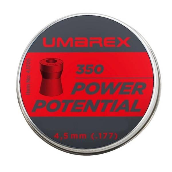 Bilde av Umarex - Power Ton 13.42gr Kuler til Luftgevær - 4.5mm - 400stk