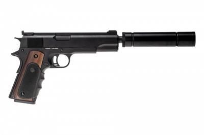 Vorsk - VX-9 Agency Gassdrevet Softgunpistol - Svart