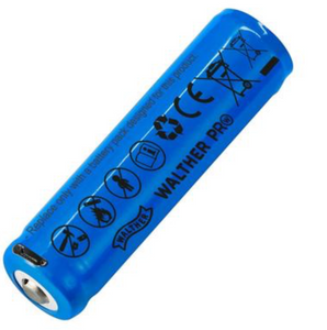 Bilde av Walther ICR 18650 Batteri - Oppladbart via USB