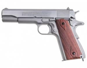 Bilde av Swiss Arms - 1911 Seventies Luftpistol med Blowback - 4.5mm BB