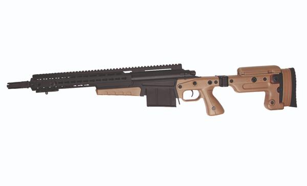 Bilde av AI - MK13 Compact Bolt Action Airsoft Sniper PL - Svart/TAN