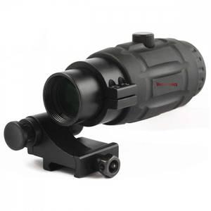 Bilde av Vector - 3x Forstørrelse til Rødpunktsikter - Flip Mount og QR F