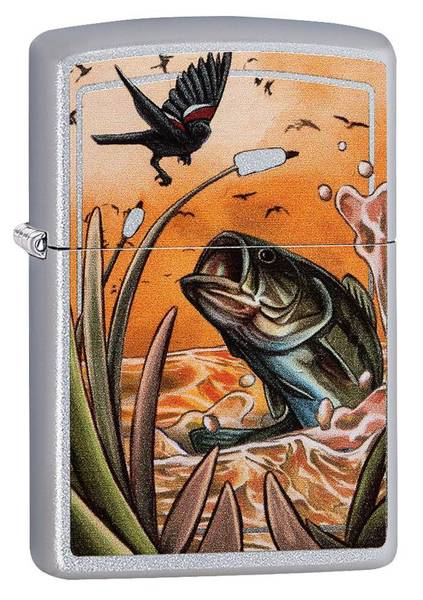 Bilde av Zippo - Fugl og Fisk - Lighter