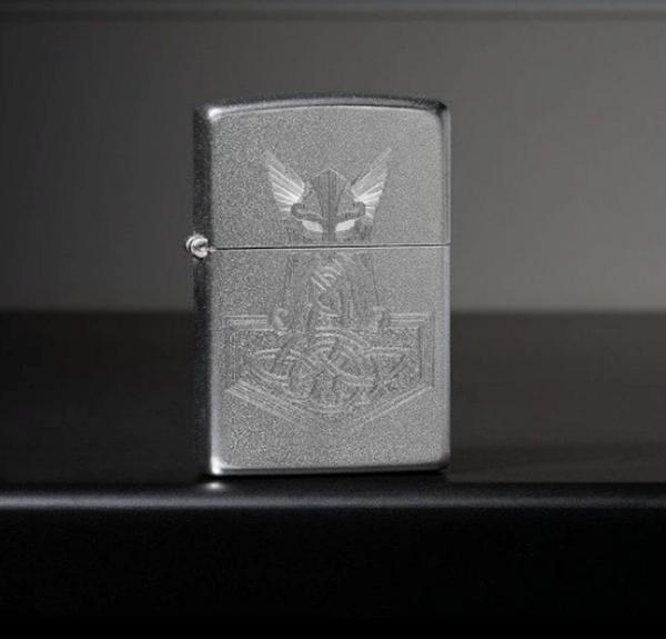 Bilde av Zippo - Hammer of Thor Design