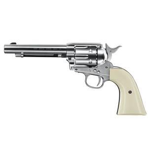 Bilde av Colt Peacemaker SAA .45 - Nickel -  4.5mm Pellets