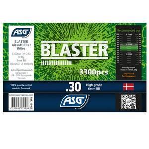 Bilde av Blaster Softgunkuler 0.30g - 3300stk