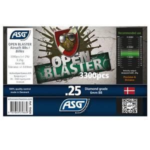 Bilde av Open Blaster Kuler - 0.25g - 3300stk