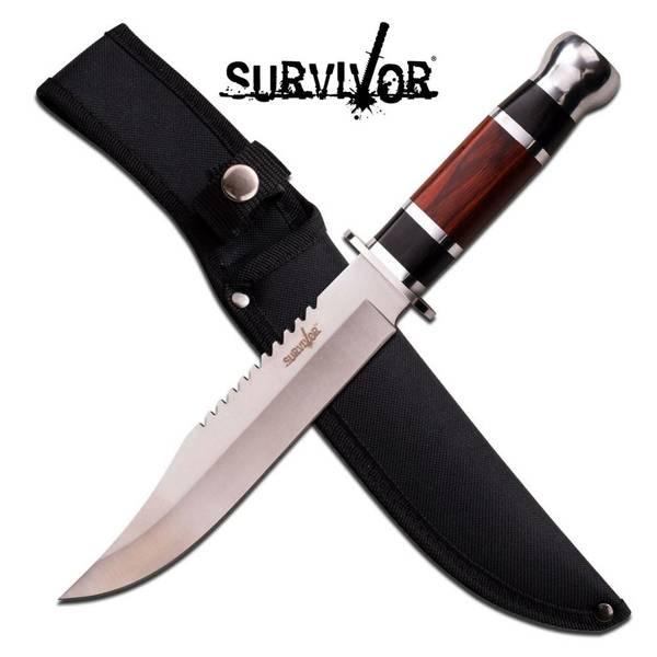 Bilde av Survivor - Jaktkniv med Pakkawood Håndtak