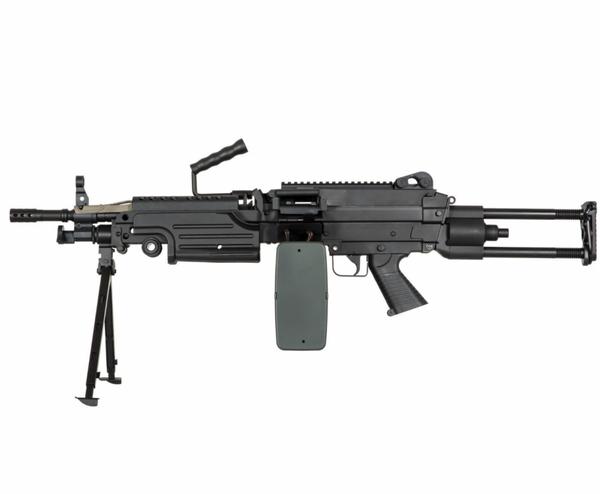 Bilde av Specna Arms - M249 PARA Core Elektrisk Maskingevær - Svart