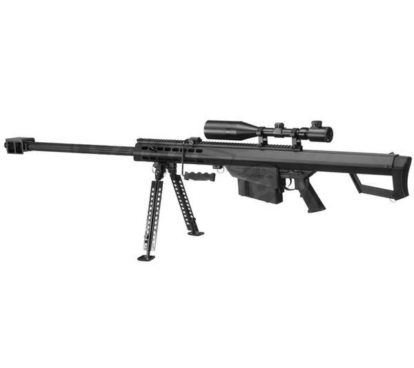Bilde av Snow Wolf - M82A1 Bolt Action Full Metall Airsoft Sniper - Sprin