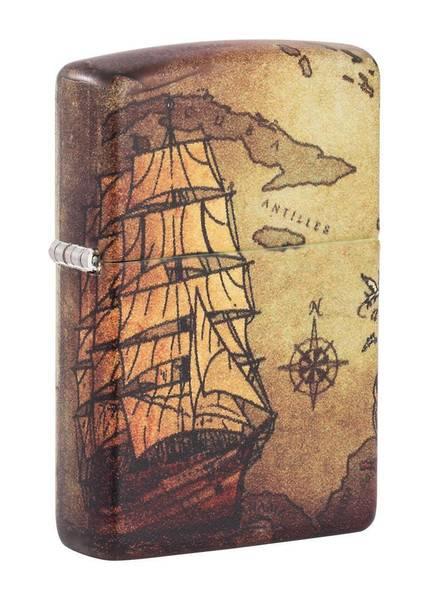 Bilde av Zippo - 540 Piratskip Motiv - Lighter