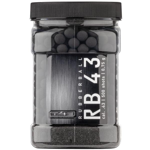 Bilde av Gummikuler til T4E - RB 0.43CAL - 500stk