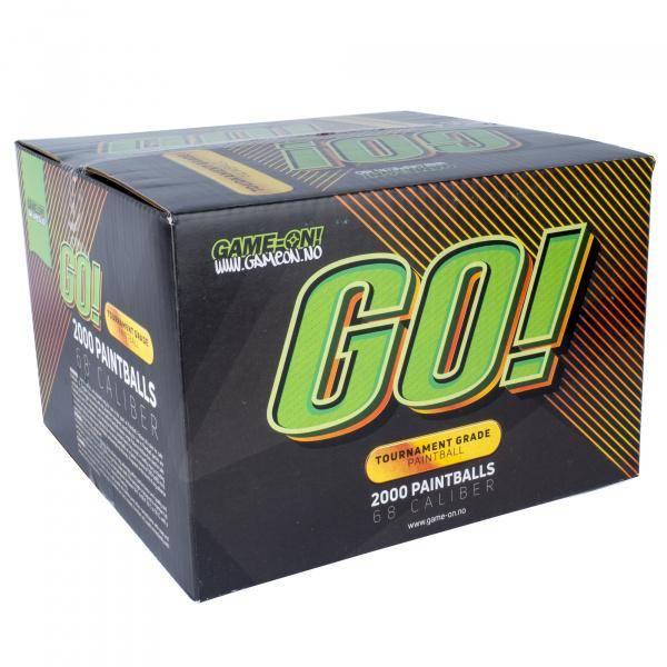 Bilde av GO! Paintballs  - GOLD ANDRE SORTERING - 2000stk