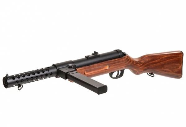 Bilde av Snow Wolf - MP-18 Elektrisk Softgun Rifle - Metall og Ekte Tre