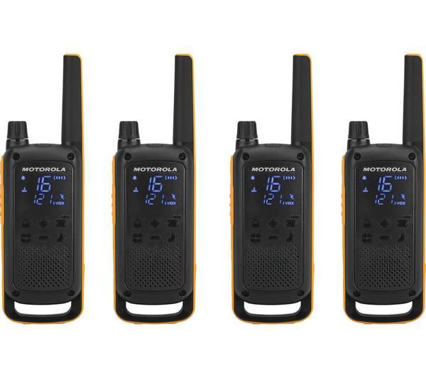 Bilde av Motorola T82 Extreme QUAD Talkabout Walkie Talkie