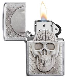 Bilde av Zippo - Skull with Brain Surprise