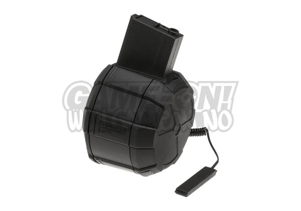 Bilde av ICS - 1800 Skudds Automatisk Drum Mag til M4/M15/M16