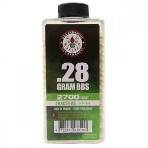 Bilde av G&G Tracer 0.28g Green - 2700stk