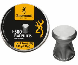Bilde av Browning - Flat Head Pellets 4.5mm - 500stk