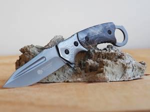 Bilde av Wild Turkey - Håndlaget Jaktkniv med Slire - Grå