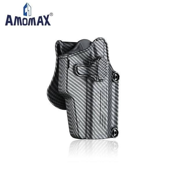 Bilde av Amomax - Per-Fit QR Universal Hylster - Karbon/Svart