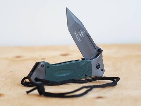 Bilde av SE - Taktisk Foldekniv med Slire G10 - Grå/Olive