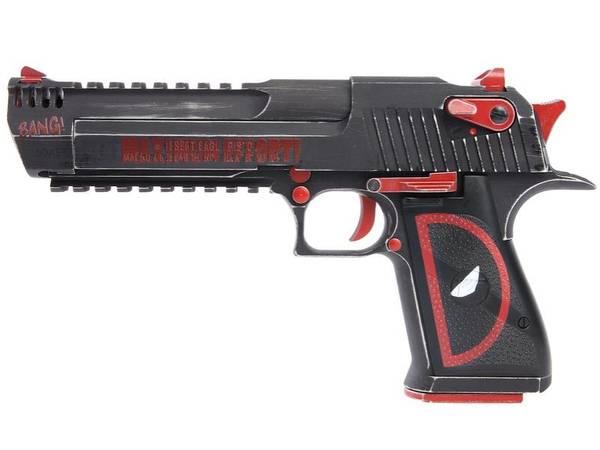 Bilde av DEagle - Gassdrevet Softgun Full Metall - Deadpool Edition