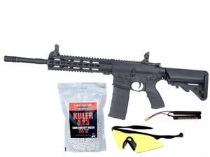 Bilde av Tippmann Commando Carbine - Elektrisk Softgunrifle - Svart (PAKK