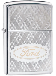Bilde av Zippo - Ford Logo - High Polish Chrome