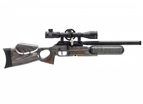 Bilde av FX Crown MKII Continuum - 6.35mm PCP Luftgevær -Laminat Grå