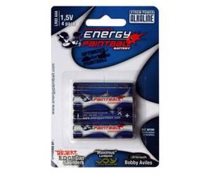 Bilde av Energy Paintball - AAA Batteri - 4stk