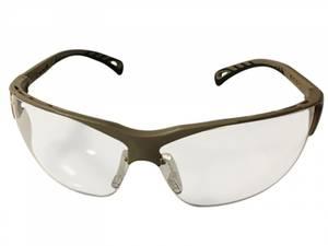 Bilde av Beskyttelsesbriller - Justerbare - Klart Glass med Tan Ramme