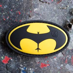 Bilde av Patch - Buttman Rubber - Gul