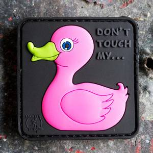 Bilde av Patch - Tactical Rubber Duck - Pink