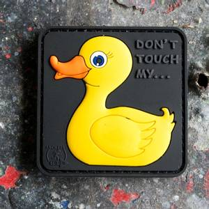 Bilde av Patch - Tactical Rubber Duck - Yellow