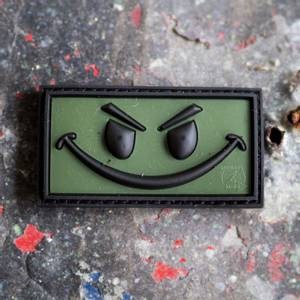 Bilde av Patch - Evil Smile Rubber - Forest