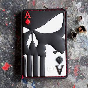 Bilde av Patch - Punisher Ace of Spades Rubber