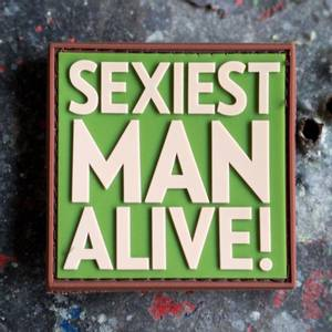 Bilde av Patch - Sexiest Man Alive - Multicam