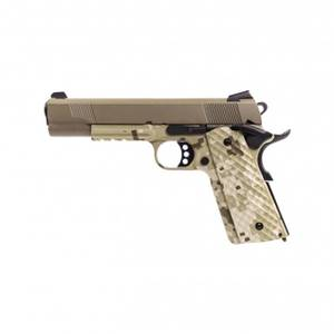 Bilde av Raven - 1911 MEU Railed Softgunpistol med Blowback - Digital/Tan