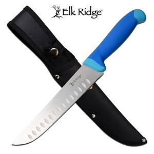 Bilde av Elk Ridge - Fixed Blade Kniv med Slire - Blå