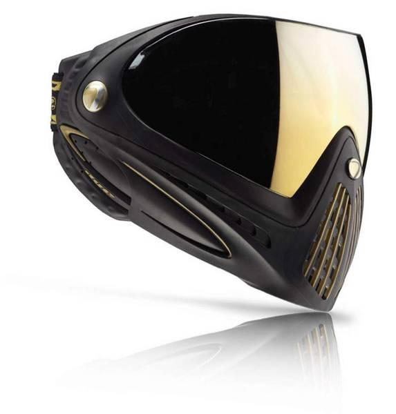 Bilde av Dye i4 - Paintball Maske med Dobbeltglass- Svart/Gull
