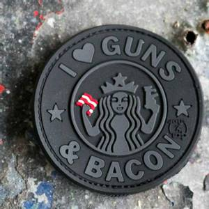 Bilde av Guns & Bacon Patch