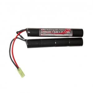 Bilde av ASG Batteri - 9.6V 2200mAh NiMH Tamiya