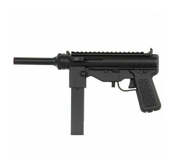 Bilde av DE - Mini Grease Gun Springer Softgun Pistol - Svart