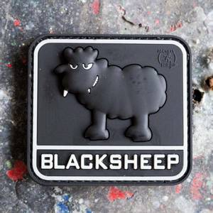 Bilde av Patch - Black Sheep Rubber - SWAT