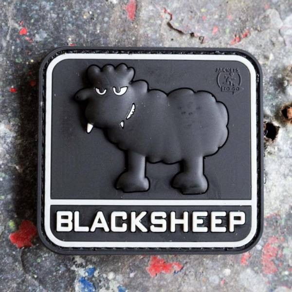 Bilde av Patch - Black Sheep Rubber - SWAT