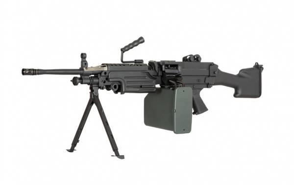 Bilde av Specna Arms - M249 MK2 Core Elektrisk Maskingevær - Svart