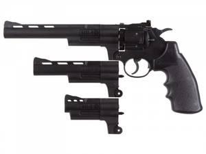 Bilde av Crosman - Triple Treat Co2 Drevet Revolver - 4.5mm Dual Ammo