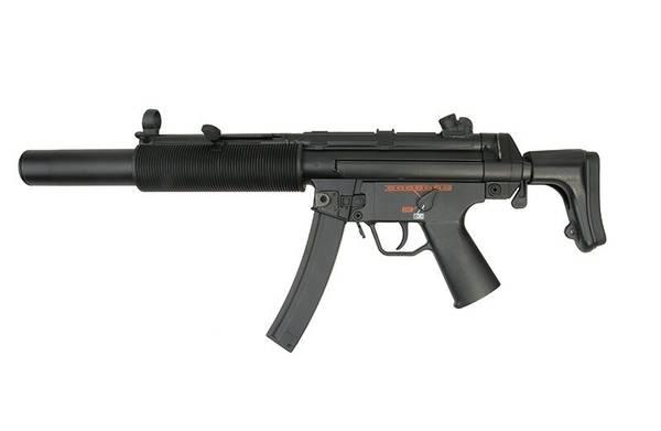 Bilde av Warrior - PM5 SD6 Elektrisk Softgun Rifle - Full Metall