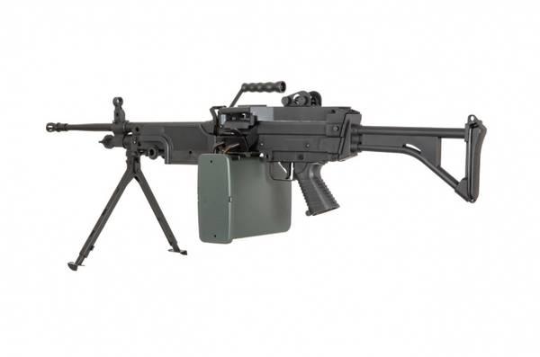 Bilde av Specna Arms - M249 MK1 Core Elektrisk Maskingevær - Svart
